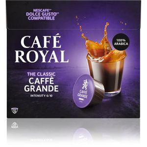 CAFÉ - CHICORÉE Café royal dolce caffe  grande Capsules compatible