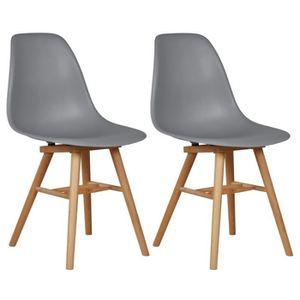 CHAISE JAMES Lot de 2 chaises de salle à manger design...