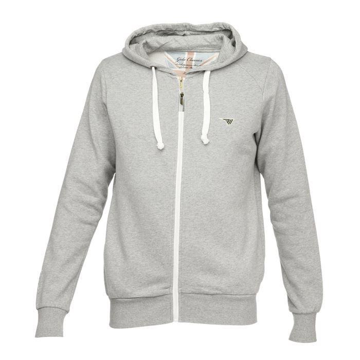 gola classic veste sweat zipp capuche homme gris achat vente sweatshirt cdiscount. Black Bedroom Furniture Sets. Home Design Ideas