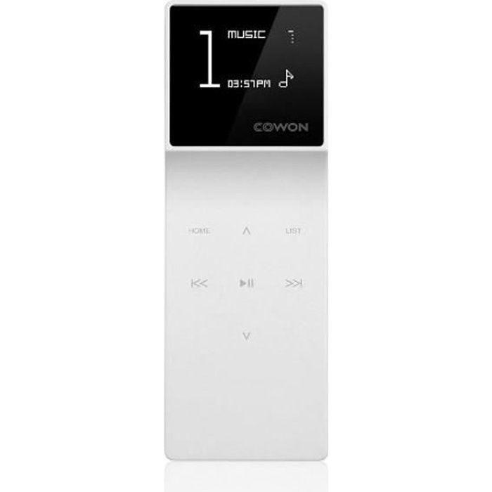 Cowon e3 16go blanc lecteur mp3 avis et prix pas cher cdiscount - Cdiscount lecteur mp3 ...
