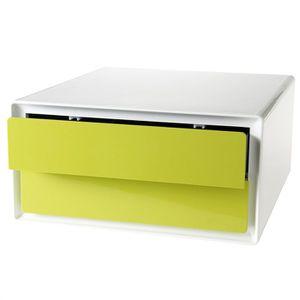easybox meuble de rangement double volume plat ve achat vente petit meuble rangement. Black Bedroom Furniture Sets. Home Design Ideas