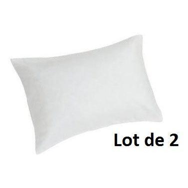 sweet home lot de 2 prot ge oreillers climafresh 50x70cm achat vente protege oreiller. Black Bedroom Furniture Sets. Home Design Ideas