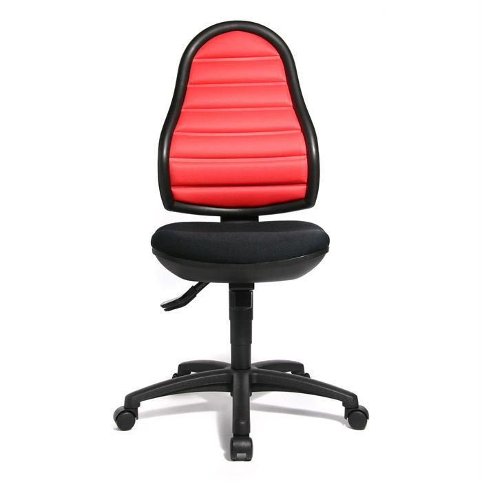 chaise de bureau express 10 03 noir rouge achat vente chaise de bureau tissu cdiscount. Black Bedroom Furniture Sets. Home Design Ideas