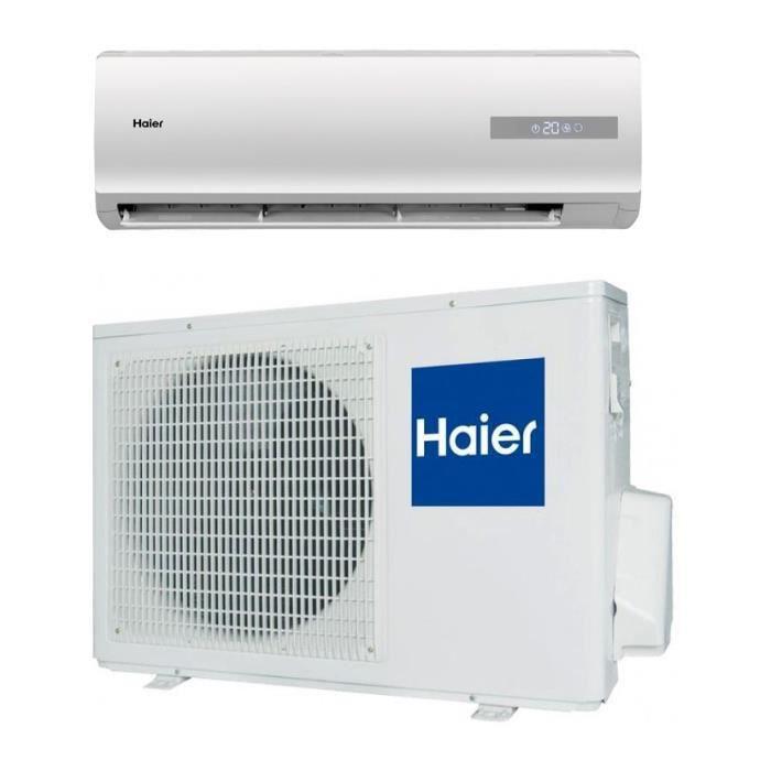 haier pompe chaleur climatiseur r versible fixe tide. Black Bedroom Furniture Sets. Home Design Ideas