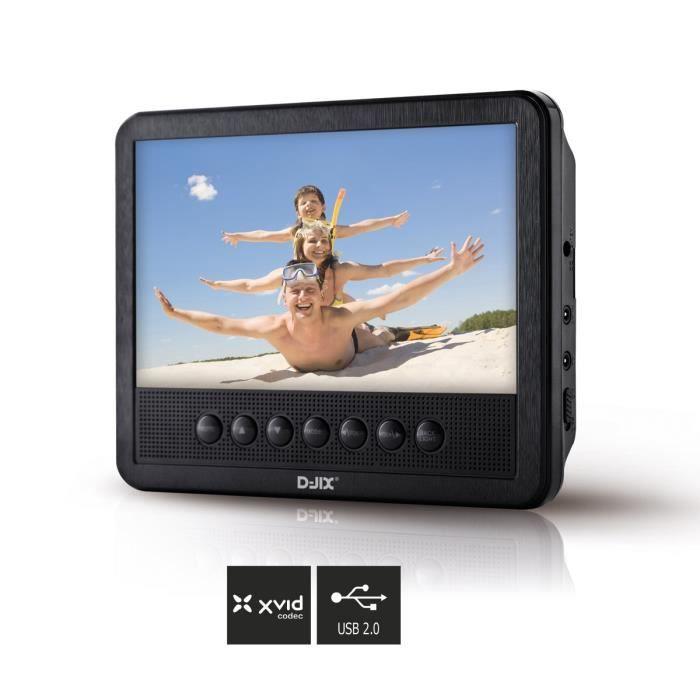 d jix pvs 705 01hsm lecteur dvd portable 7 lecteur dvd portable avis et prix pas cher. Black Bedroom Furniture Sets. Home Design Ideas