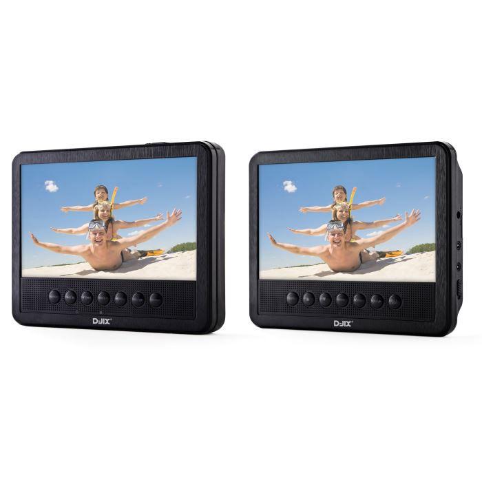 d jix pvs705 39hsm lecteur dvd portable double 7 achat vente lecteur dvd portable d jix. Black Bedroom Furniture Sets. Home Design Ideas