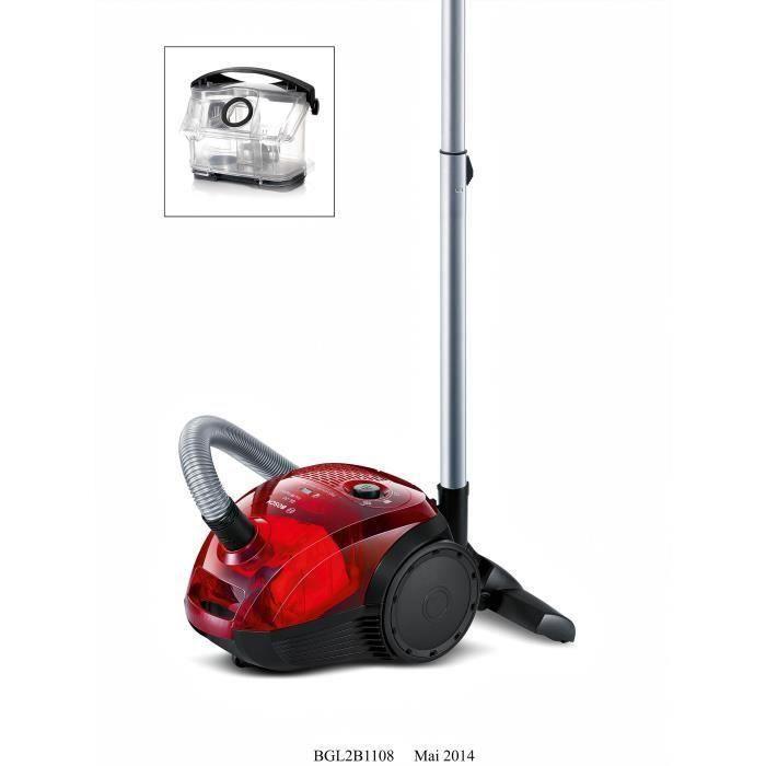 destockage aspirateur sans sac bosch bgl2b1108. Black Bedroom Furniture Sets. Home Design Ideas