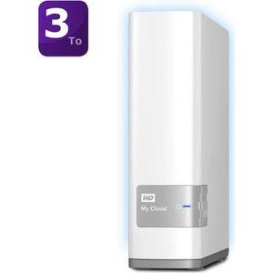 SERVEUR STOCKAGE - NAS  WD My Cloud 3To    WDBCTL0030HWT-EESN
