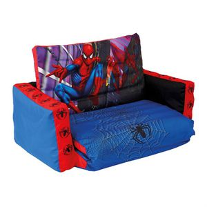 canap tween spiderman achat vente fauteuil canap b b cdiscount. Black Bedroom Furniture Sets. Home Design Ideas