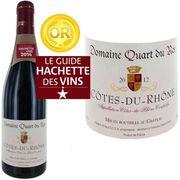 VIN ROUGE Domaine Quart du Roi 2012 Côtes du Rhône x1