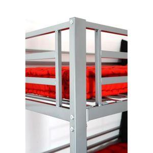 lit superpos mezzanine achat vente lit superpos mezzanine pas cher les soldes sur. Black Bedroom Furniture Sets. Home Design Ideas