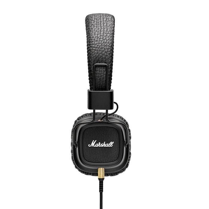 marshall major ii casque audio avec micro noir casque couteur audio avis et prix pas cher. Black Bedroom Furniture Sets. Home Design Ideas