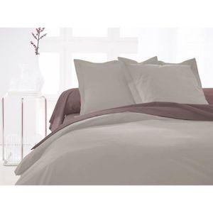 housse de couette 140x190 achat vente housse de couette 140x190 pas cher cdiscount. Black Bedroom Furniture Sets. Home Design Ideas