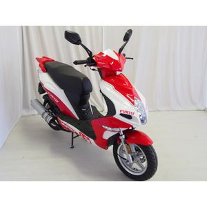 SCOOTER VASTRO Scooter 50cc Furtif Rouge