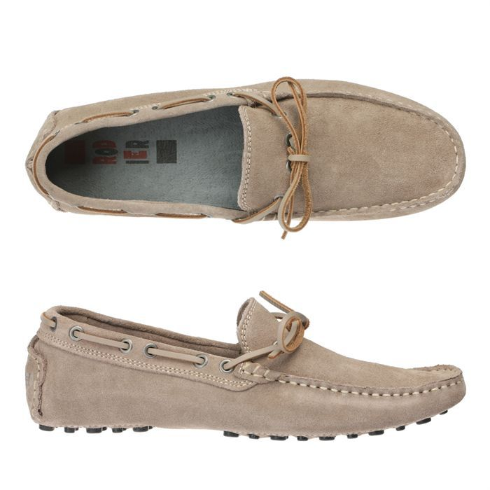 Rodier mocassins cuir brenzo homme homme beige achat for Canape rodier