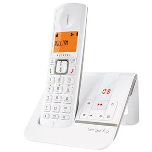 Téléphone fixe Alcatel Versatis F230 Voice Gris Sans Fil Répondeu