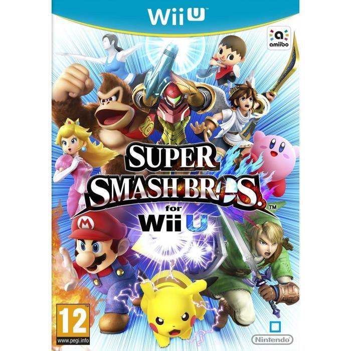 JEUX WII U Super Smash Bros Jeu Wii U