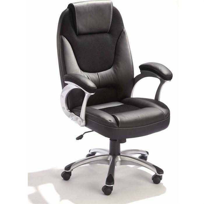 fauteuil de ministre hike achat vente chaise de bureau cdiscount. Black Bedroom Furniture Sets. Home Design Ideas