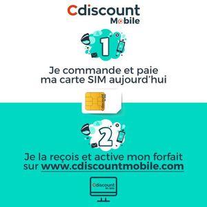 CARTE SIM Carte SIM Cdiscount Mobile
