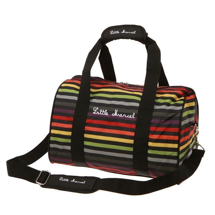 little marcel sac de voyage femme noir achat vente sac de voyage 3700583640194 soldes. Black Bedroom Furniture Sets. Home Design Ideas