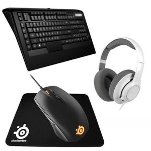 PACK CLAVIER - SOURIS Pack Gaming Steelseries : Casque Siberia Raw + Cla