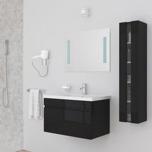 Meuble salle de bain 80 cm achat vente meuble salle de for Meuble salle de bain sur mesure pas cher