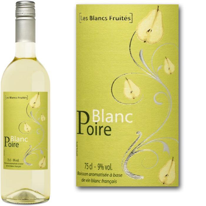 blanc poire achat vente ap ritif base de vin blanc poire cdiscount. Black Bedroom Furniture Sets. Home Design Ideas