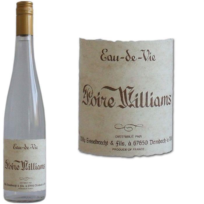 Poire williams gisselbrecht achat vente digestif eau for Alcool de poire maison