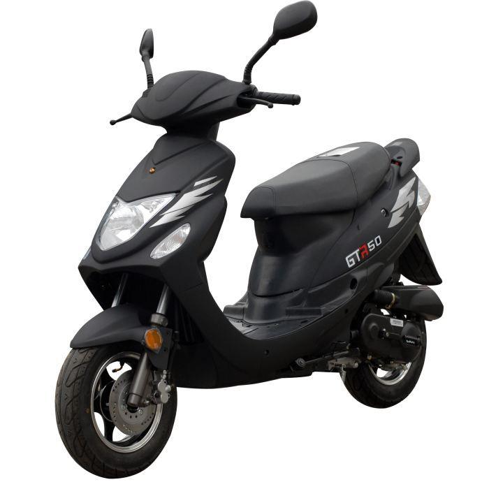 scooter eurocka gtr noir mat achat vente scooter scooter eurocka gtr noir mat cdiscount. Black Bedroom Furniture Sets. Home Design Ideas