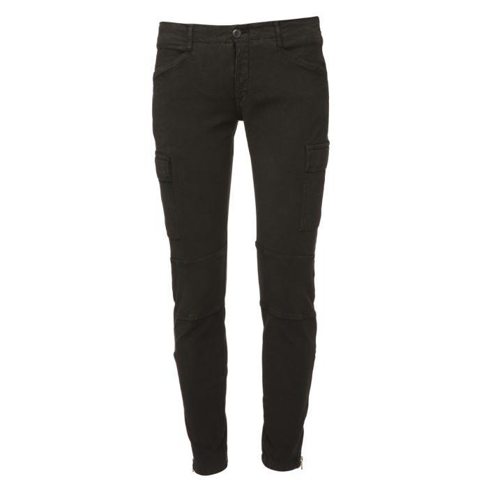 Le temps des cerises pantalon femme noir achat vente pantalon le temps des cerises pantalon - Pantalon treillis femme le temps des cerises ...