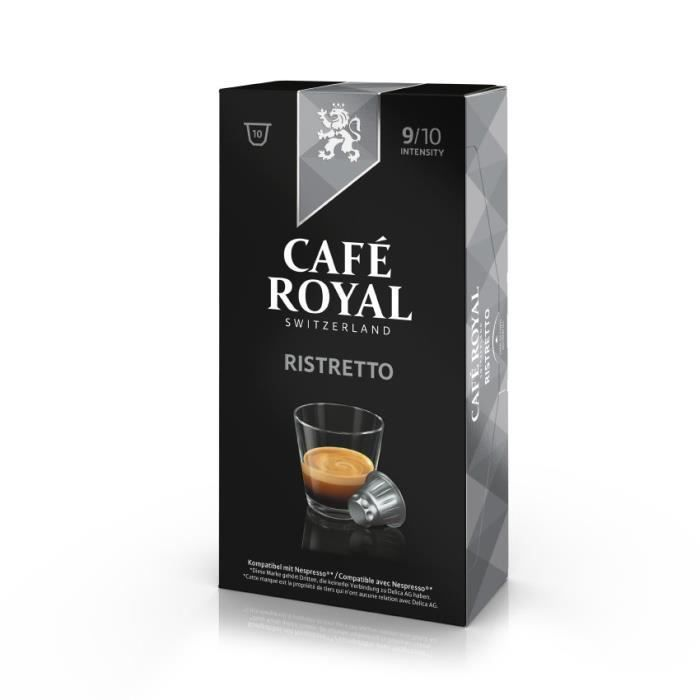 10 capsules cafe royal ristretto capsules compatibles. Black Bedroom Furniture Sets. Home Design Ideas