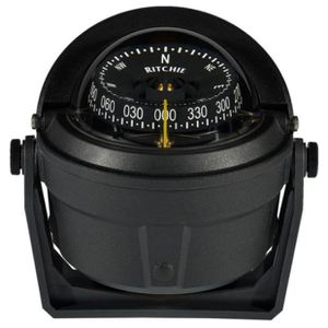 COMPAS - SEXTANT RITCHIE Compas Voyager Noir Rose Plate Blanche 75