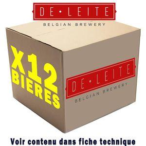 BIÈRE Box de 12 bières De Leite 33cl