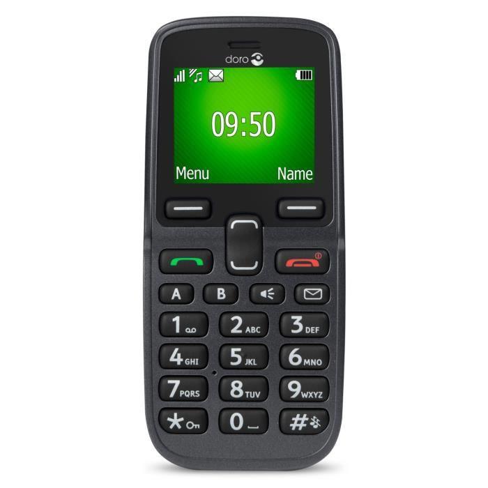 Doro 5030 graphite t l phone senior achat t l phone - Telephone portable doro pas cher ...