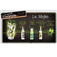 ASSORTIMENT ALCOOL Cocktail Mojito Pack