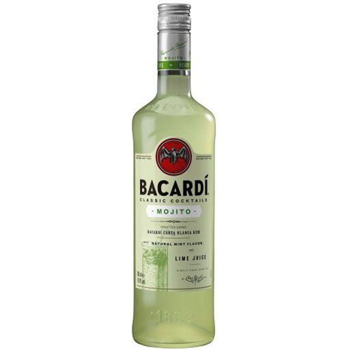 Punch-Cocktail préparé Bacardi mojito 70cl