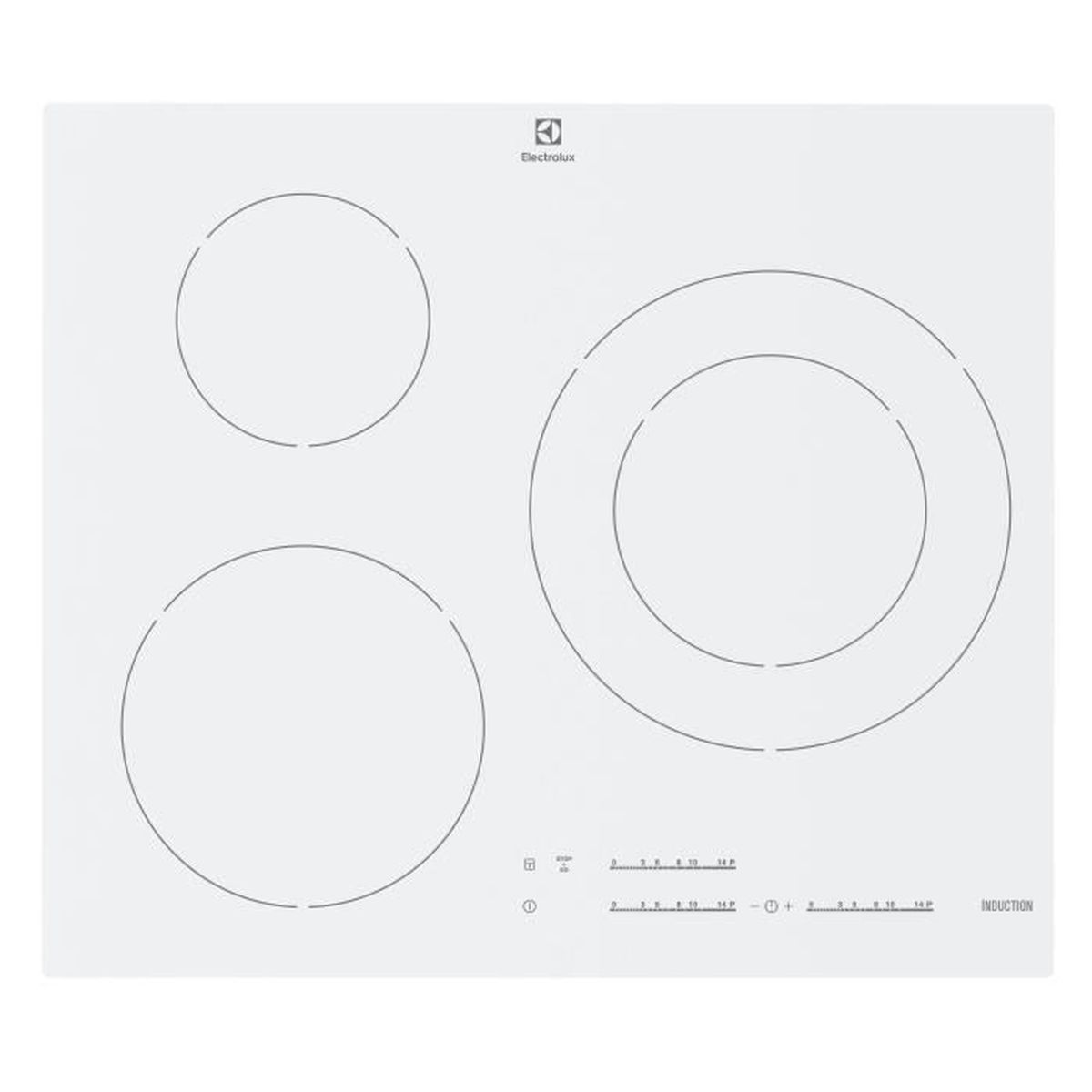 Electrolux ehm6532iw1 table de cuisson induction 3 - Table de cuisson induction electrolux ...