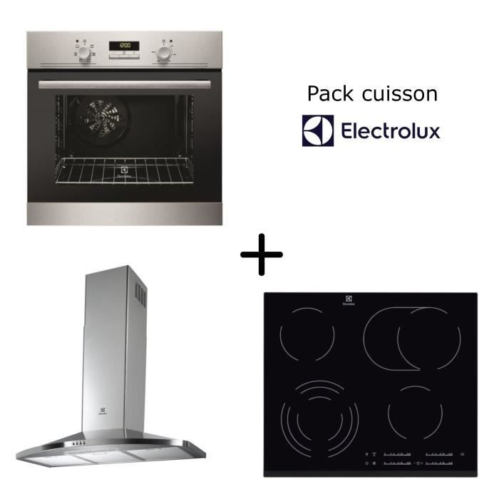 electrolux pack cuisson four multifonction table. Black Bedroom Furniture Sets. Home Design Ideas
