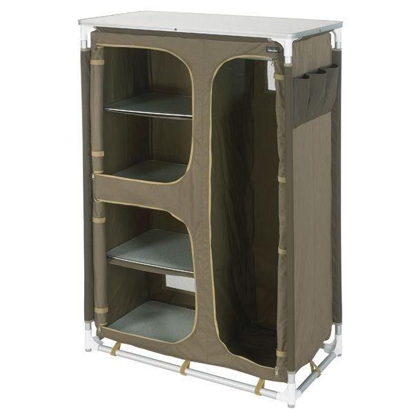trigano meuble penderie marron sable prix pas cher cdiscount. Black Bedroom Furniture Sets. Home Design Ideas