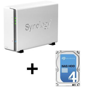 SERVEUR STOCKAGE - NAS  Synology NAS DiskStation DS115j 1 Baie + Seagate D