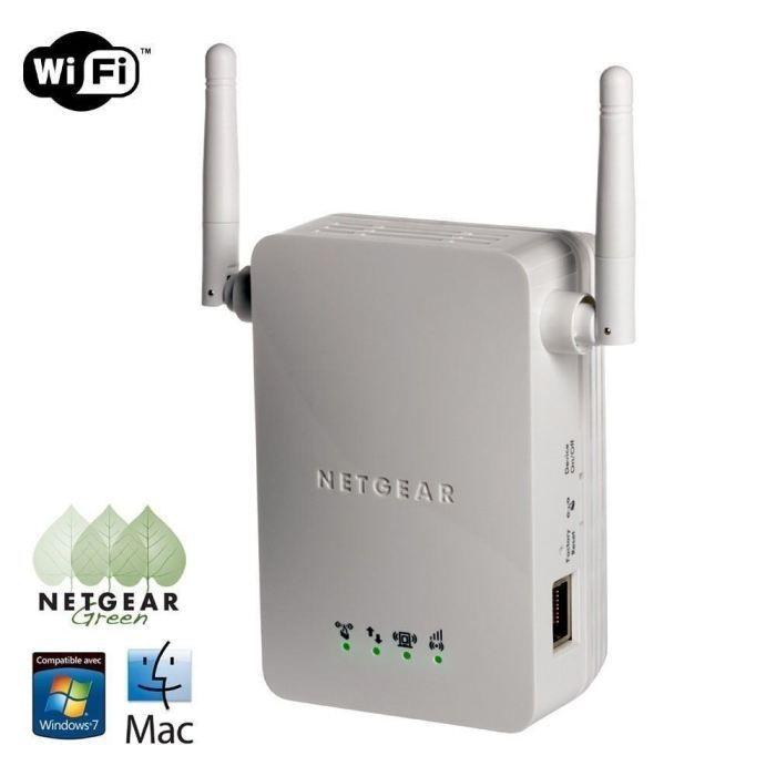 Netgear wn3000rp for Repeteur wifi exterieur netgear