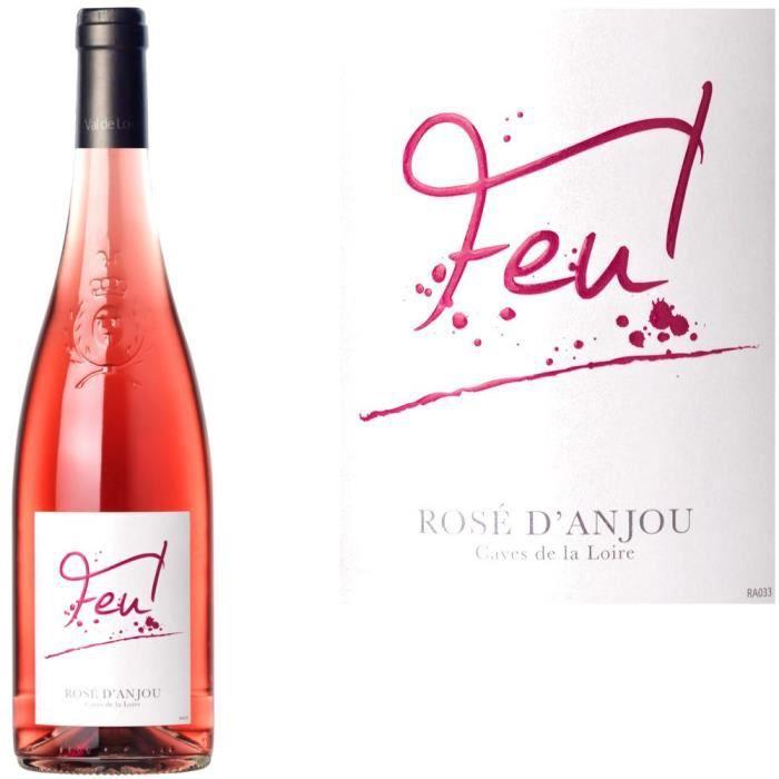 """VIN ROSE Rosé d'Anjou """"Feu"""""""