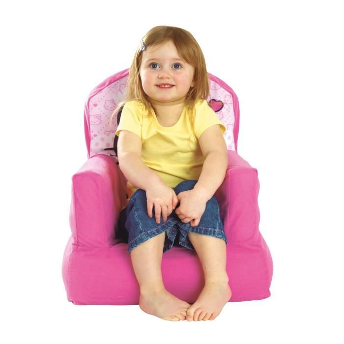 hello kitty fauteuil enfant gonflable et d pliable achat vente fauteuil canap b b. Black Bedroom Furniture Sets. Home Design Ideas