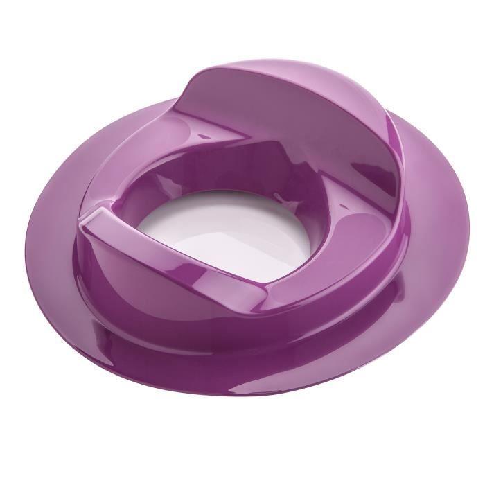 Bebeangel R Ducteur De Wc Confort Coloris Prune Prune