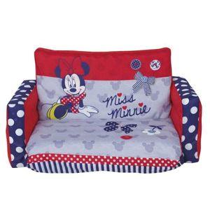 FAUTEUIL - CANAPÉ BÉBÉ Double Canapé Dépliable Minnie Mouse