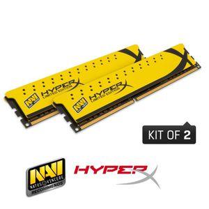MÉMOIRE RAM Kingston 8Go DDR3 1600MHz CL9 HyperX NAVI