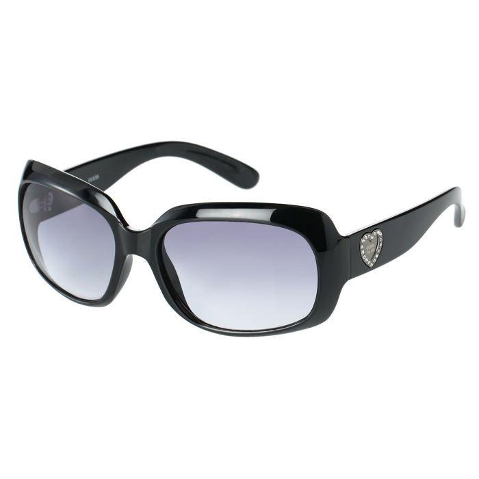 guess lunettes de soleil femme noir achat vente. Black Bedroom Furniture Sets. Home Design Ideas