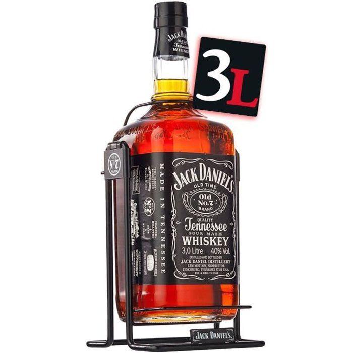 jack daniel 39 s n 7 double magnum 3l balancelle achat vente whisky bourbon scotch jack daniel. Black Bedroom Furniture Sets. Home Design Ideas