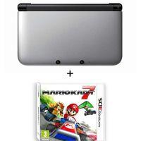 CONSOLE 3DS CONSOLE 3DS XL ARGENT + MARIO KART 7 3D