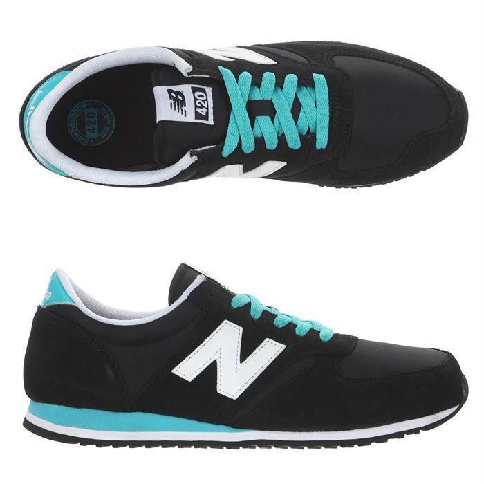 new balance u420 femme noir turquoise